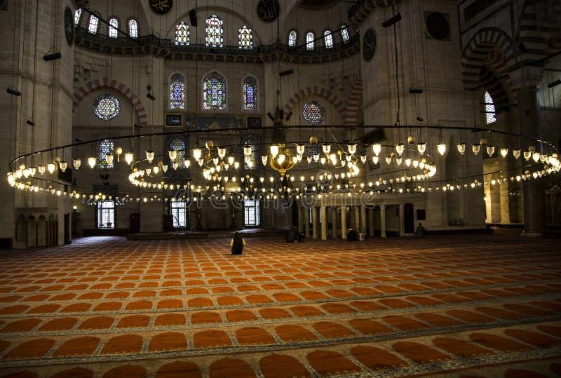 Het bidden van moslims stock fotografie