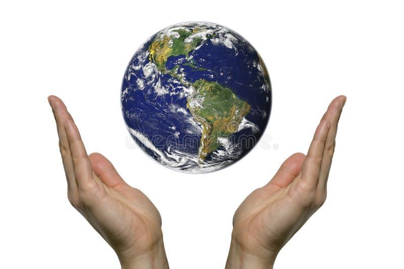 Het bidden voor aarde 3 stock fotografie