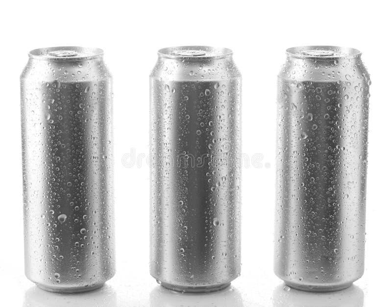 Het bier kan royalty-vrije stock afbeelding