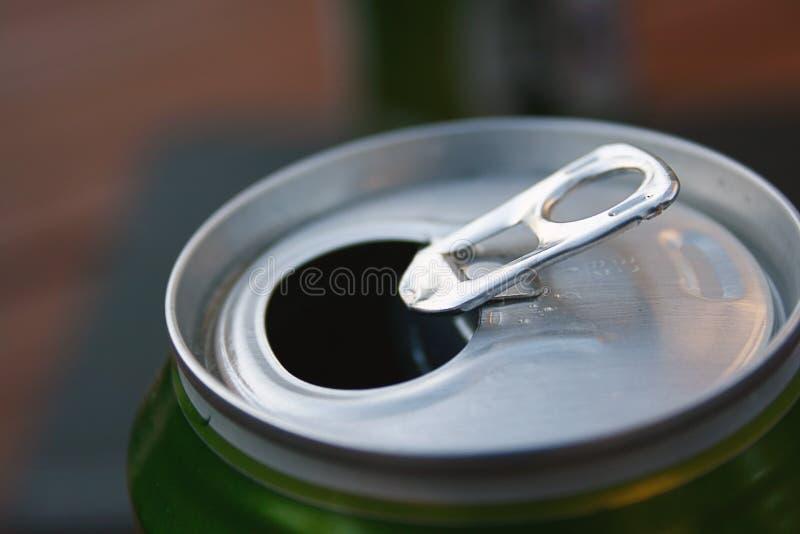 Het bier kan ring-Trekkracht royalty-vrije stock afbeelding