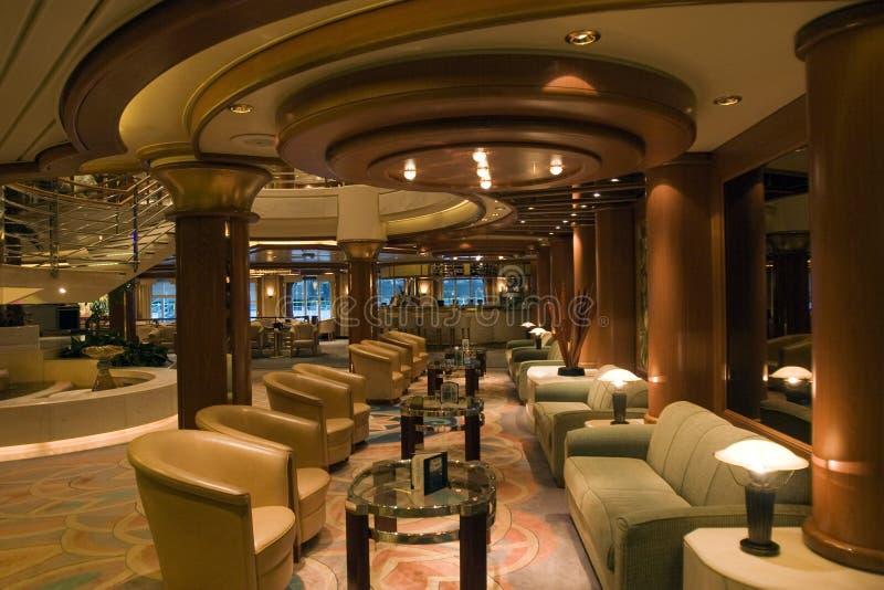 Het binnenland van de cruise royalty-vrije stock fotografie
