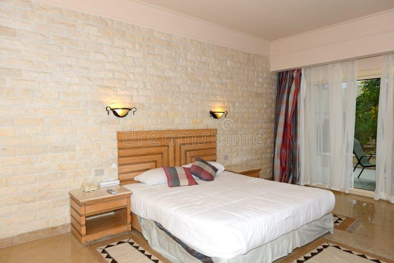 Het binnenland van de flat in het luxehotel royalty-vrije stock afbeelding