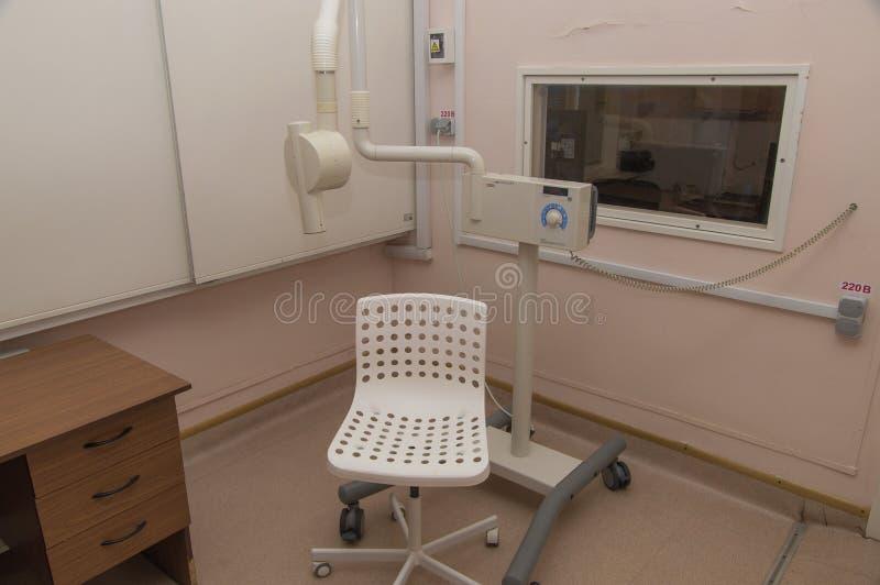 Het binnenland van de het ziekenhuisruimte royalty-vrije stock afbeeldingen
