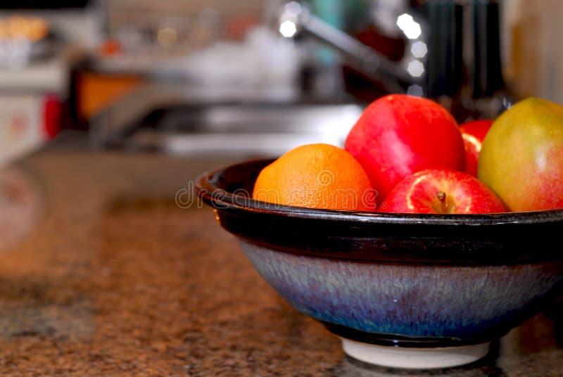 Het binnenland van de keuken stock fotografie