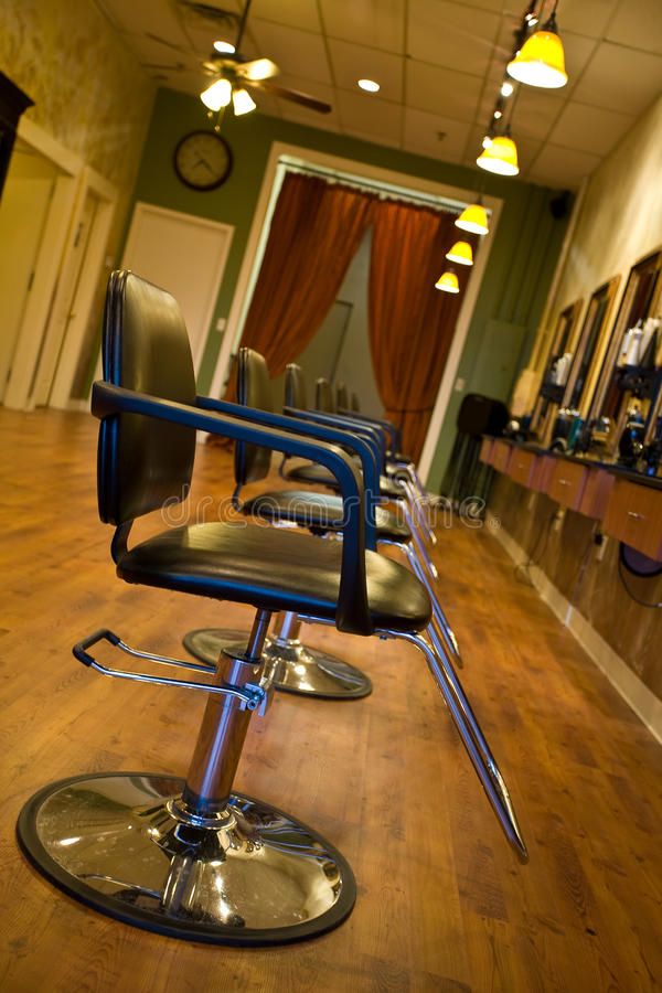 Het Binnenland van de Salon van de schoonheid royalty-vrije stock afbeelding