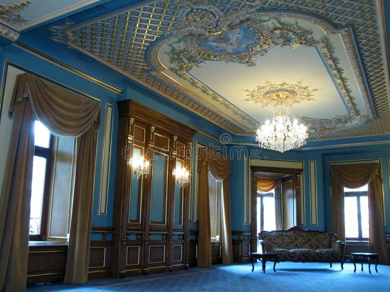 Het binnenland van de Zaal royalty-vrije stock fotografie