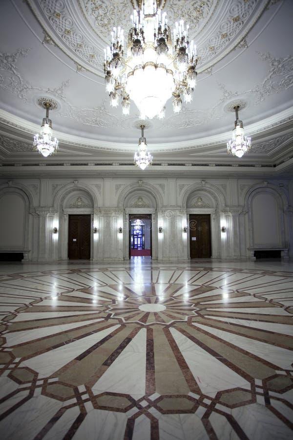 Het binnenland van de Zaal stock foto