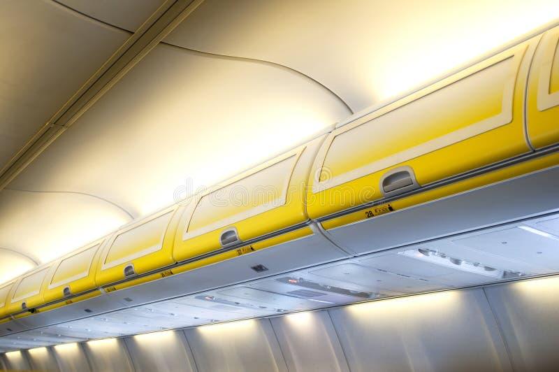 De Cabine van vliegtuigen stock afbeelding