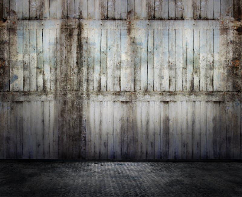 Het binnenland van Grunge royalty-vrije stock foto's
