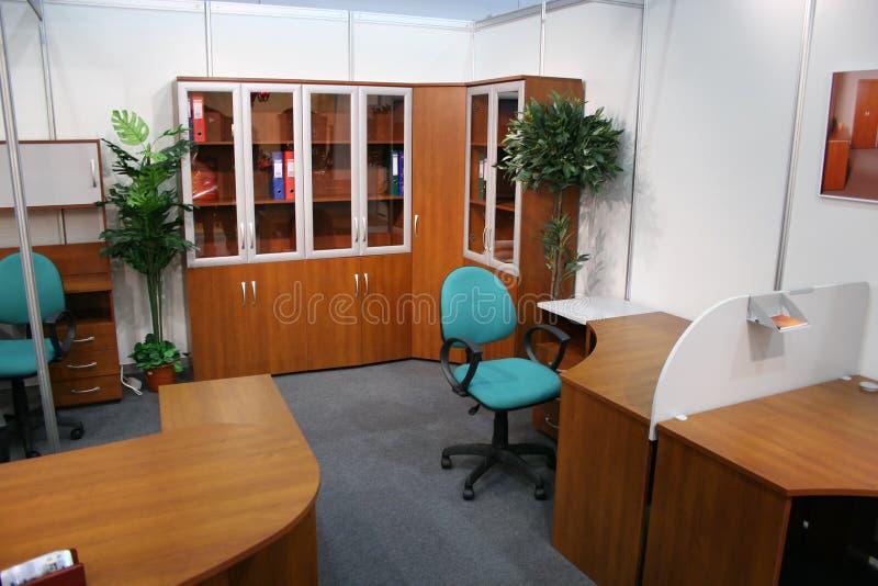 Het binnenland van het bureau stock afbeelding