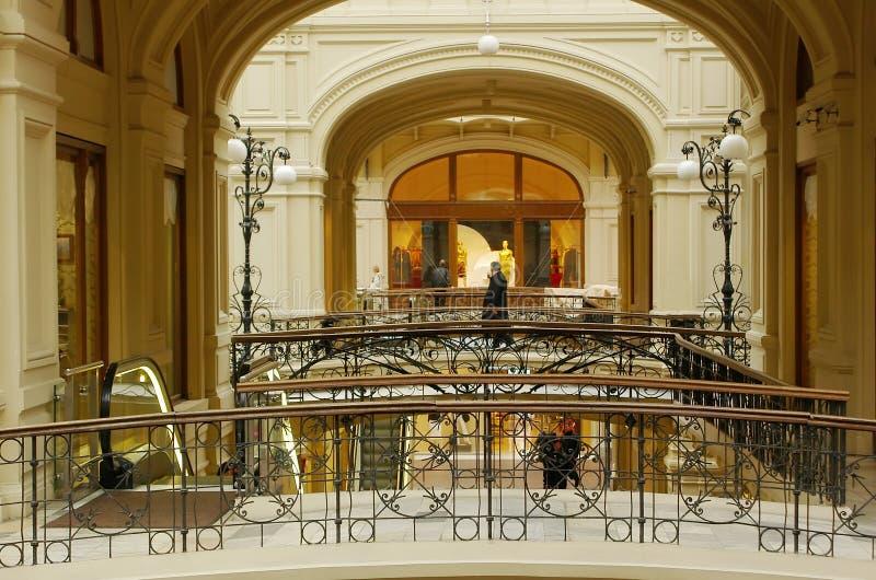 Het binnenland van het handelscentrum royalty-vrije stock foto