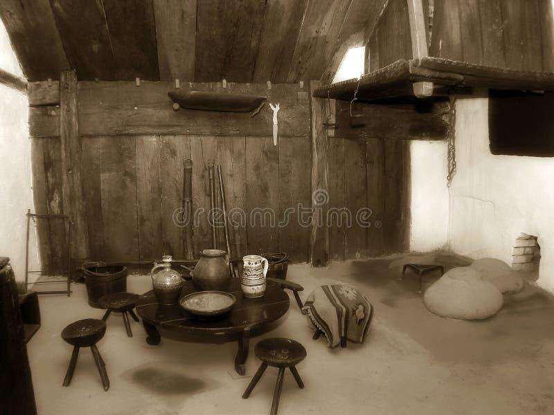 Het binnenland van het huis royalty-vrije stock foto