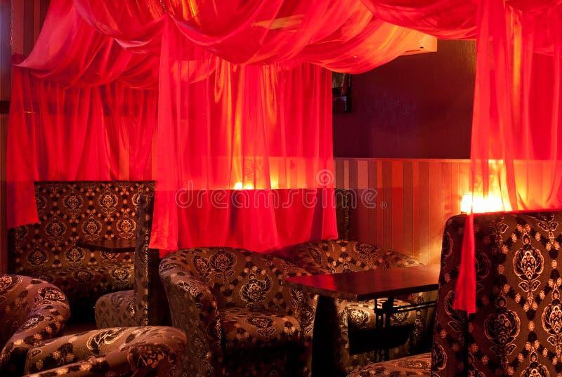 Het binnenland van het restaurant stock fotografie afbeelding 23327712 - Oostelijk licht ...