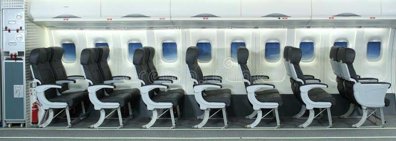 Het Binnenland van het vliegtuig