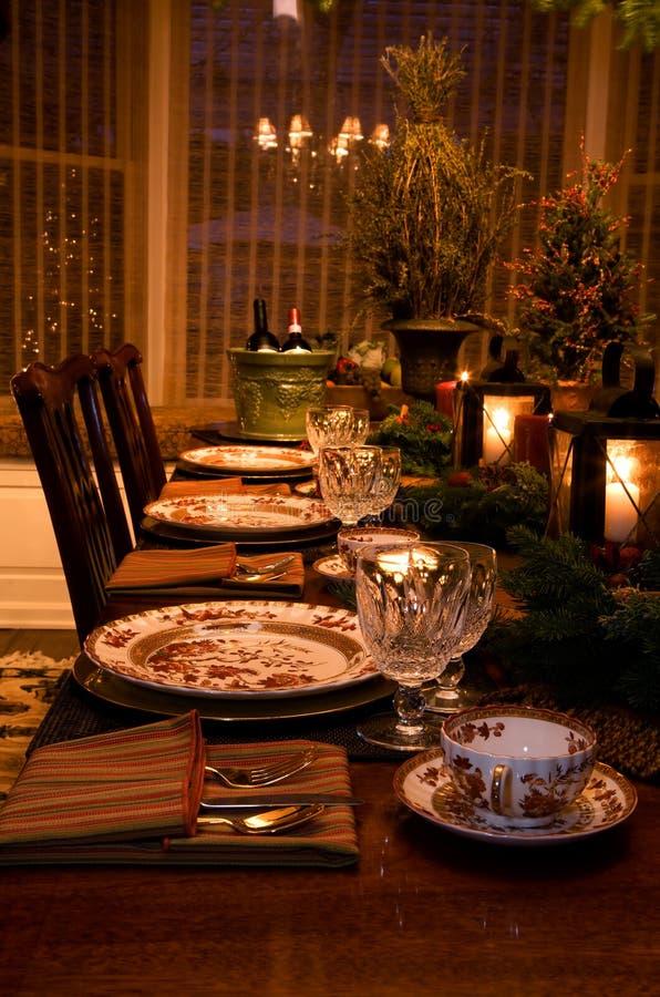 Het Binnenland van Kerstmis stock fotografie