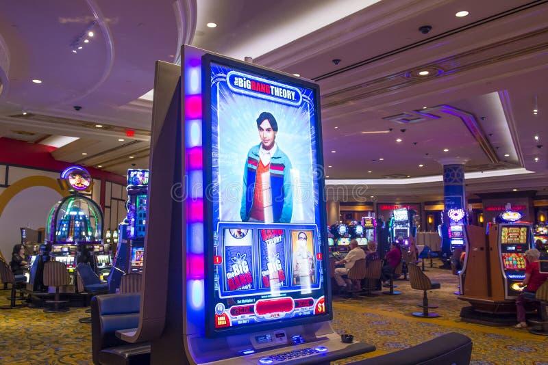 Het binnenland van Las Vegas Palazzo royalty-vrije stock afbeelding