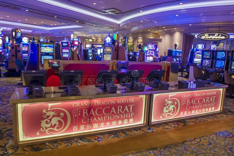 Het binnenland van Las Vegas Palazzo stock afbeelding