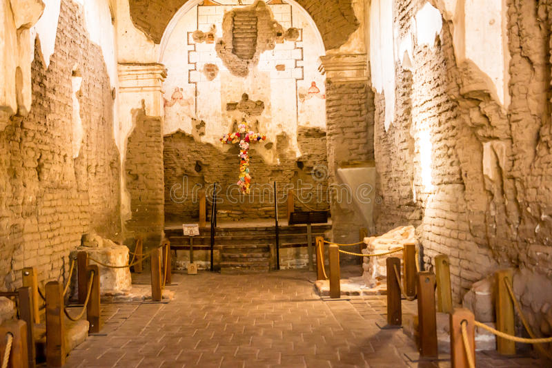 Het Binnenland van opdrachttumacacori royalty-vrije stock afbeelding