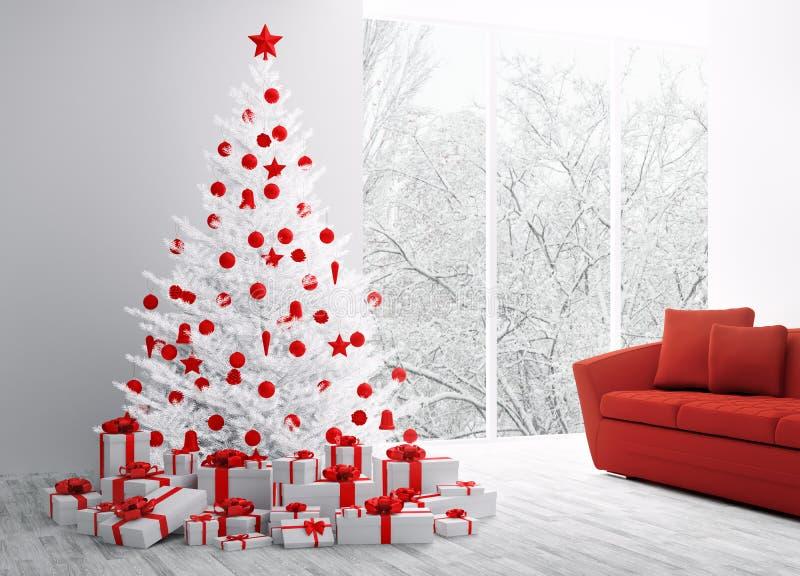 Het binnenlandse 3D teruggeven van Kerstmis stock illustratie