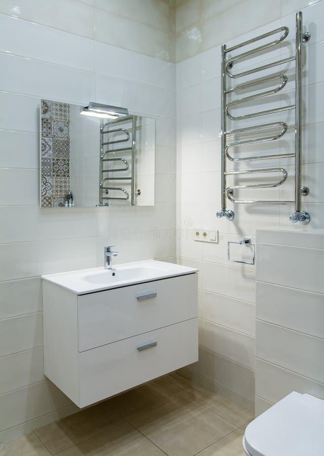 Het binnenlandse ontwerp van de badkamers royalty-vrije stock afbeelding