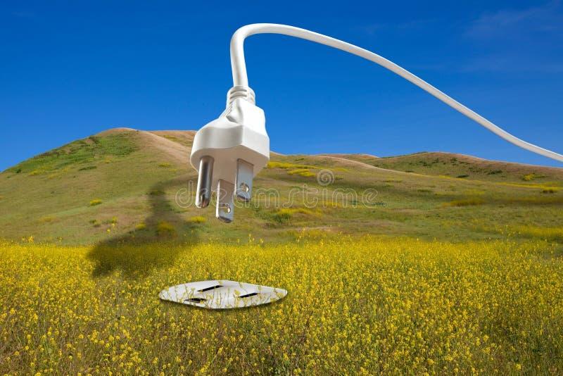 Het bio Concept van de Vernieuwbare Energie van de Brandstof royalty-vrije stock afbeeldingen