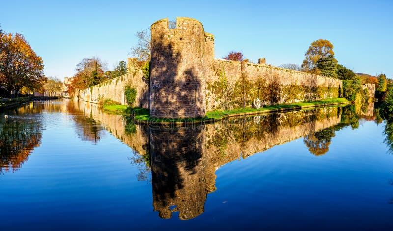 Het Bischoppenpaleis, Putten - historisch Engeland royalty-vrije stock foto