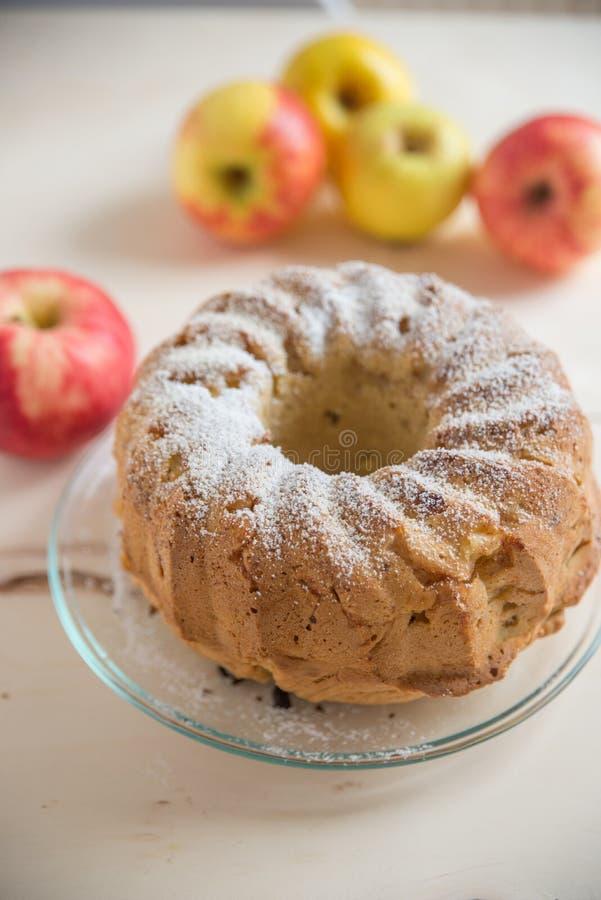 Het biscuitgebak van Apple royalty-vrije stock foto