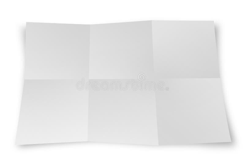 Het blad van het document stock afbeelding