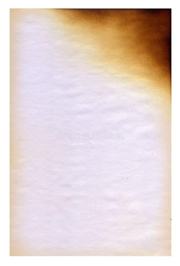 Het blad van een document stock foto's