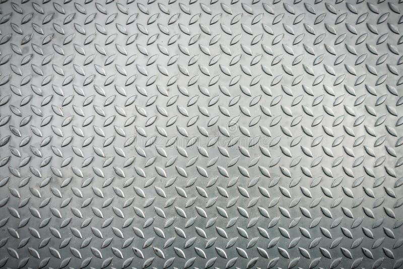 Het blad van het staal checkerplate metaal, de textuurachtergrond van het Metaalblad , samenvatting stock foto's