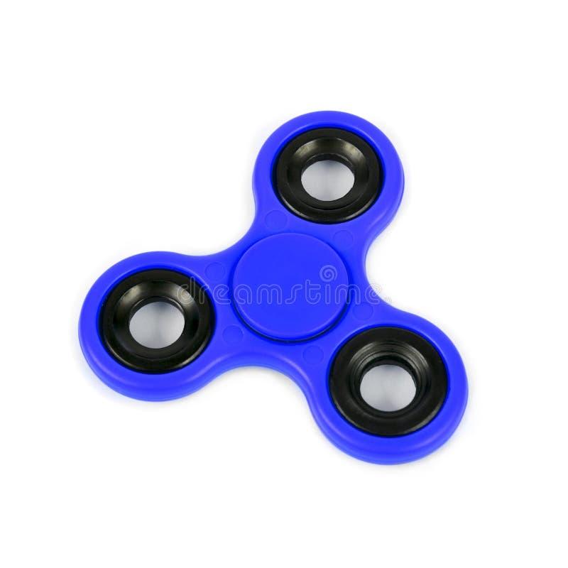 Het blauw friemelt spinner stock foto