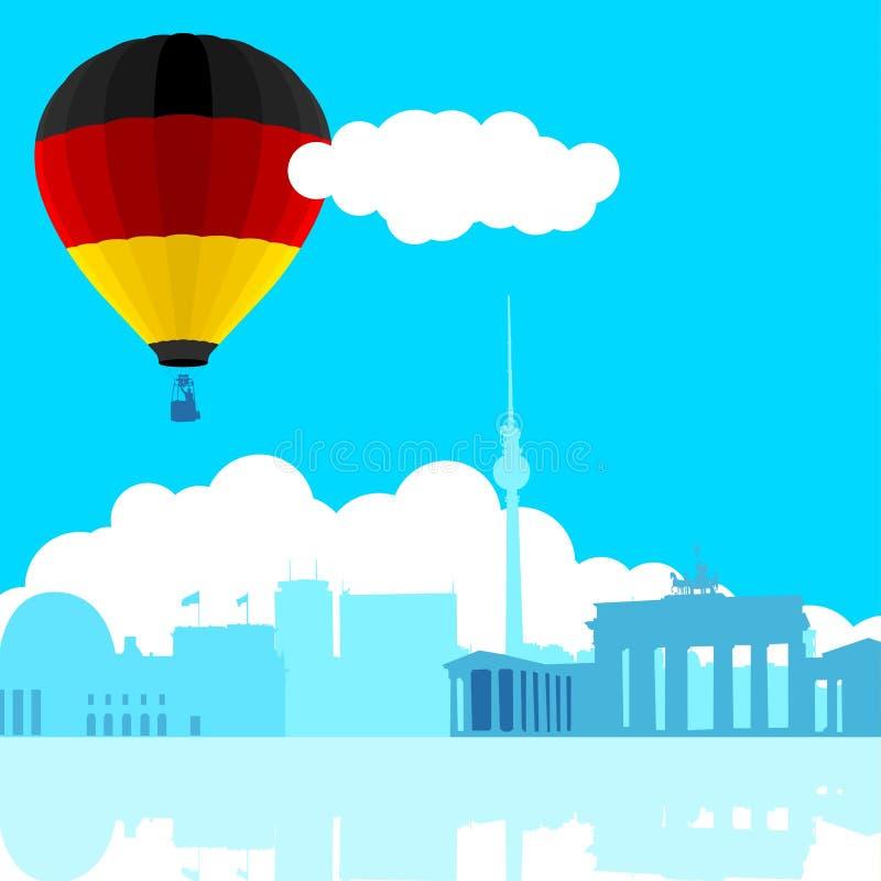 Het Blauw van Berlijn stock illustratie