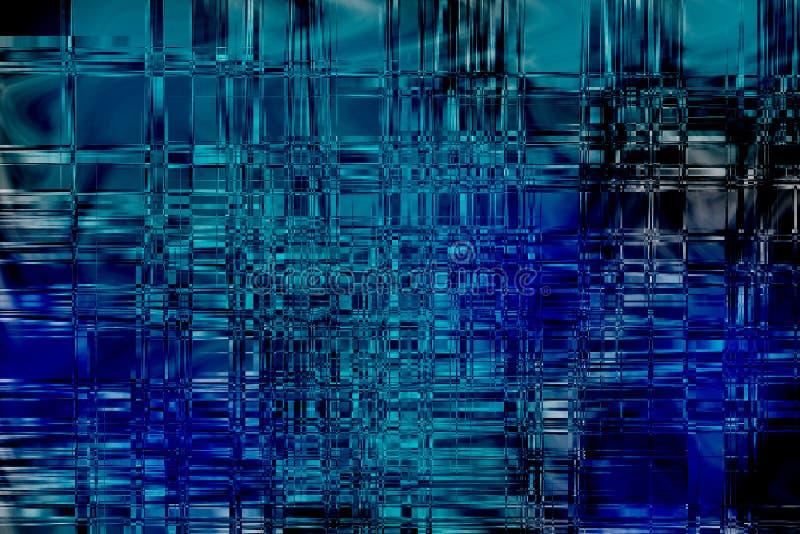 Het Blauw van de diamant stock illustratie