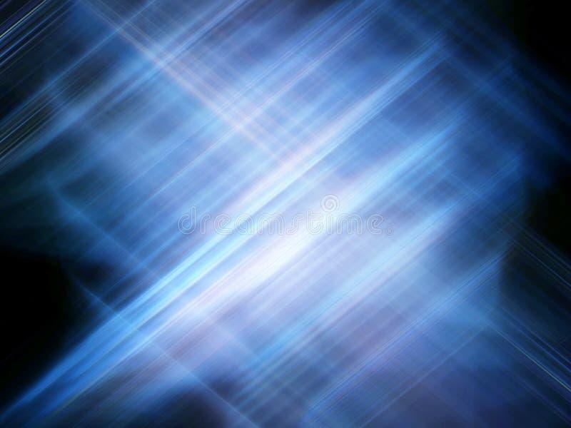Het blauw van Techno vector illustratie