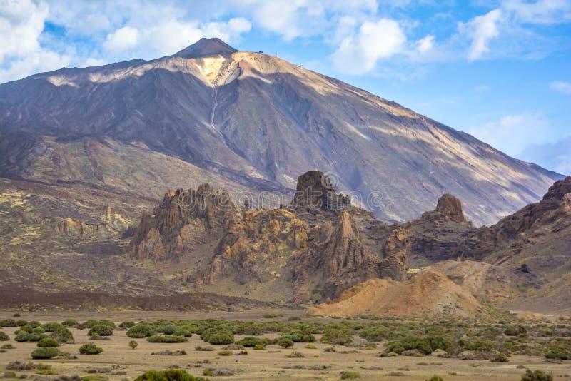 Het Blauw van Teide stock foto's