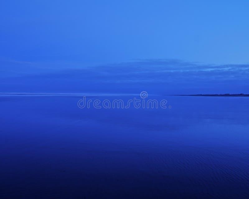 Het blauwe Blauwe Zand van de Hemel stock foto's