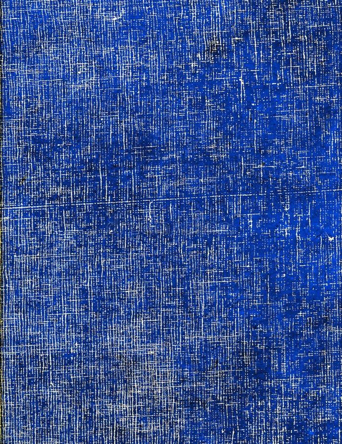Het blauwe DwarsDocument van het Broedsel stock afbeeldingen