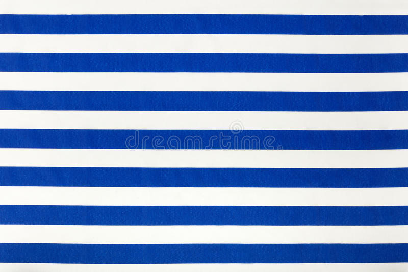 Het blauwe en witte patroon van de strepenstof, achtergrond royalty-vrije stock afbeelding