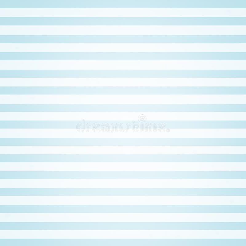 Het blauwe gestreepte van de de stoffenlijn behang van het achtergrondtextuur witte patroon abstracte art. vector illustratie