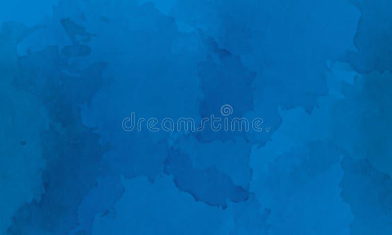 Het blauwe kader textuur van het achtergrondrechthoekbeeld royalty-vrije illustratie