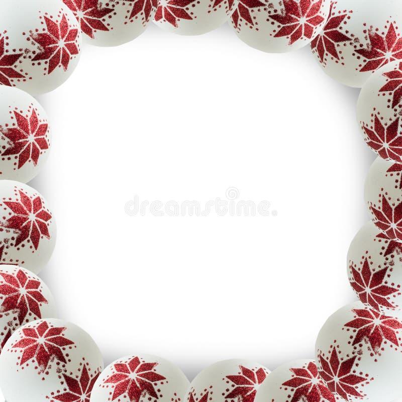 Het blauwe magische frame van Kerstmis stock foto