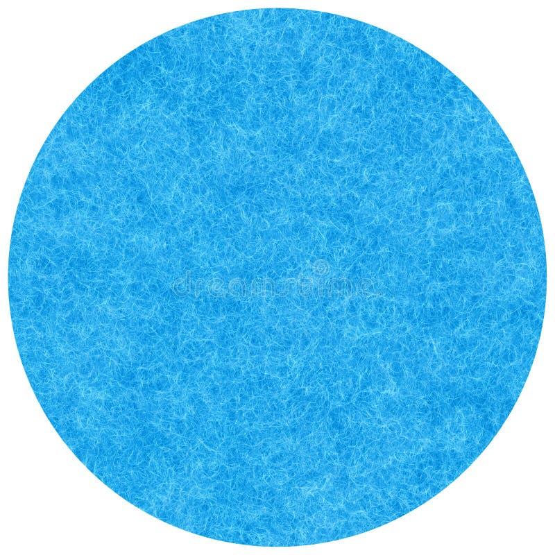 Het blauwe mohair royalty-vrije illustratie