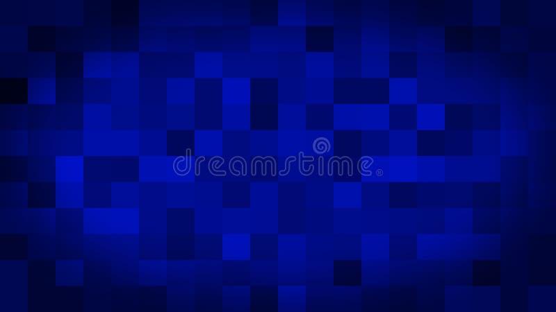 Het blauwe motie abstracte achtergrond kleurrijke pixel opvlammen en schakelaar vector illustratie