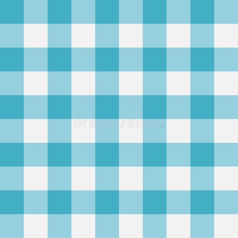 Het blauwe Naadloze Patroon van de Gingang Loodrechte stroken Vector illustratie royalty-vrije illustratie