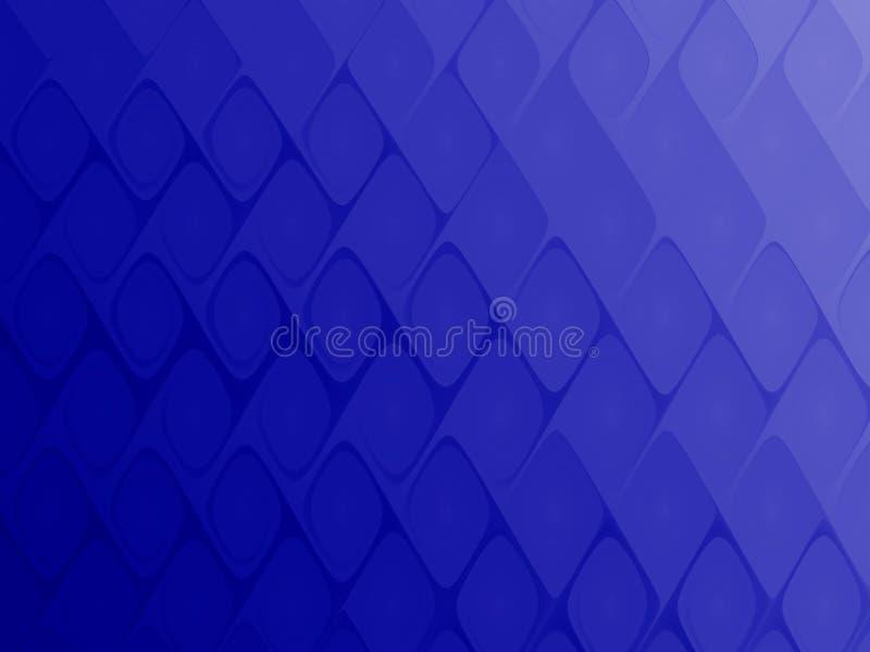 Het blauwe net van de diamanttegel royalty-vrije illustratie