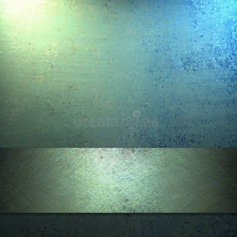 Het blauwe Ontwerp Achtergrond van de Lay-out royalty-vrije illustratie