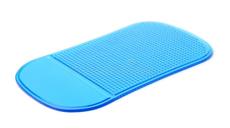 Het blauwe stootkussen niet van het misstapsilicone stock afbeelding