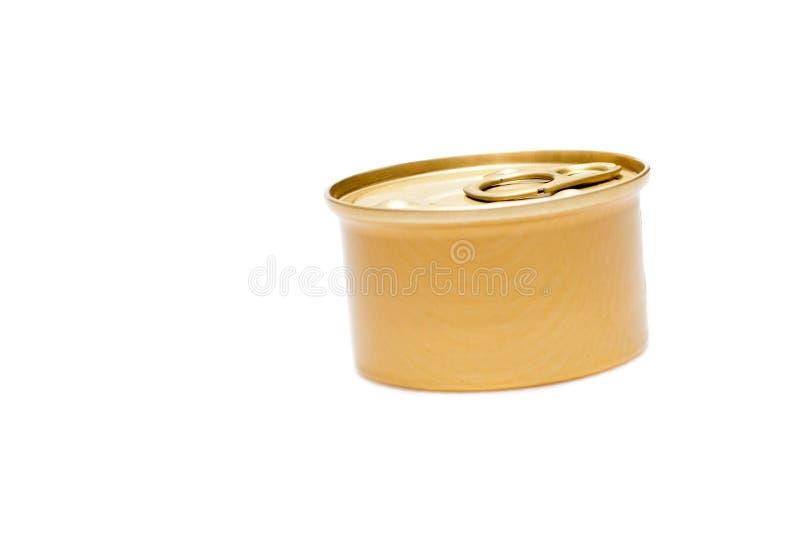 Het blik van het tin royalty-vrije stock foto