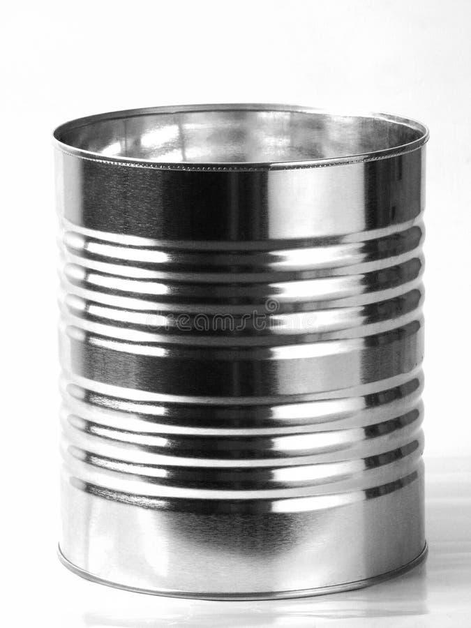 Het Blik van het tin stock foto's