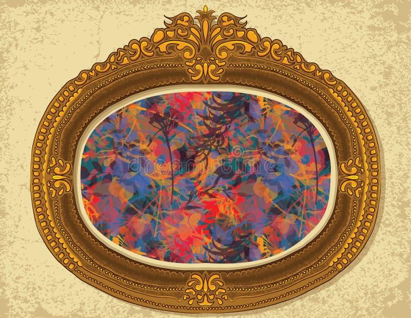 Het bloemen Schilderen royalty-vrije illustratie